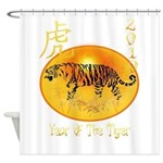 Year Of The Tiger Shower Curtain