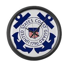 Delete-USCG-Logo-2-X.gif Large Wall Clock