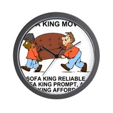 Sofa-King-Movers-Value-Shirt.gif Wall Clock