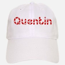 Quentin - Candy Cane Baseball Baseball Cap