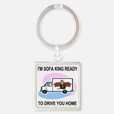 Sofa-King-Movers-Underwear-2.gif Square Keychain