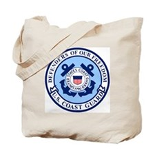 USCG-Defenders-Blue-White.gif Tote Bag