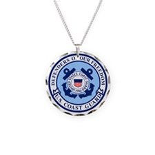 USCG-Defenders-Blue-White.gi Necklace