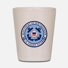 USCG-Defenders-Blue-White.gif Shot Glass