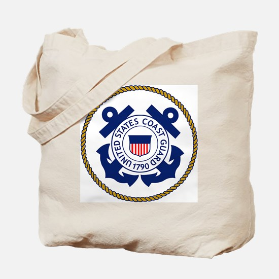 USCG-Logo-3-Chief.gif Tote Bag