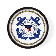 USCG-Logo-3-Chief.gif Wall Clock