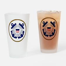 USCG-Logo-3-Chief.gif Drinking Glass