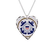 USCG-Logo-3-Chief.gif Necklace Heart Charm