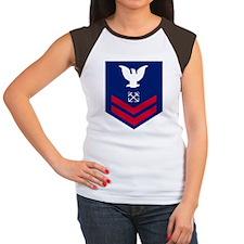 USCG-BM2-Squared.gif Women's Cap Sleeve T-Shirt