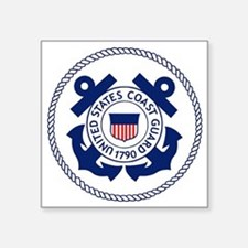 USCG-Logo-3-Enlisted-X.gif Square Sticker 3