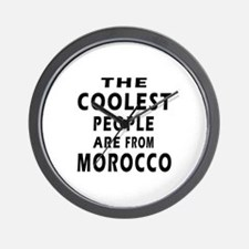 The Coolest Morocco Designs Wall Clock