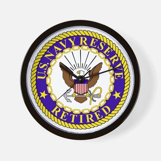 USNR-Retired-Bonnie.gif Wall Clock