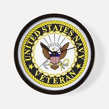 Navy-Veteran-Bonnie-2.gif Wall Clock