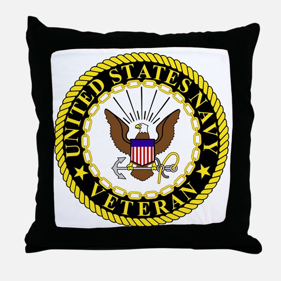Navy-Veteran-Bonnie-2.gif Throw Pillow