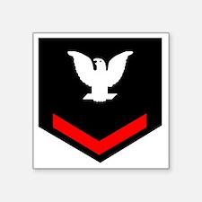 "Navy-PO3-Blues-Squa... Square Sticker 3"" x 3"""