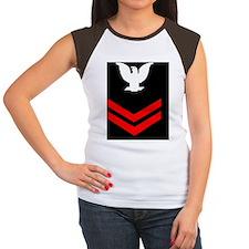 Navy-PO2-Mousepad-X.gif Women's Cap Sleeve T-Shirt