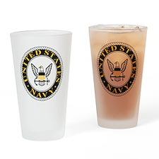 Navy-Logo-CPO.gif Drinking Glass