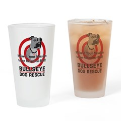 Mission Responsi-Bull Drinking Glass
