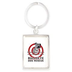Mission Responsi-Bull Portrait Keychain