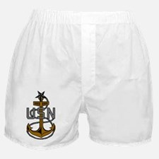 Navy-SCPO-Anchor-Subdued.gif Boxer Shorts