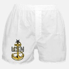 Navy-SCPO-Anchor-Bonnie-X.gif Boxer Shorts