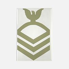Navy-CPO-Black-Shirt-O Rectangle Magnet