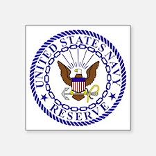 "USNR-Logo-Bonnie-4-Blue.gif Square Sticker 3"" x 3"""