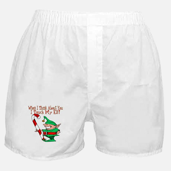 Touch My Elf Boxer Shorts
