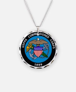 USPHS-Commissioned-Corps-Log Necklace