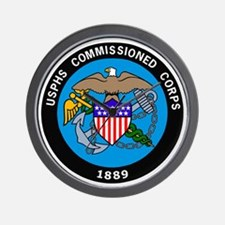 USPHS-Commissioned-Corps-Logo-Bonnie.gi Wall Clock