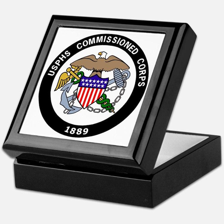 USPHS-Commissioned-Corps-White.gif Keepsake Box