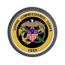 USPHS-Commissioned-Corps-Gold.gif Wall Clock