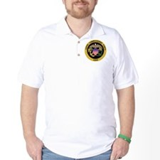 USPHS-Commissioned-Corps-Gold.gif T-Shirt