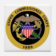 USPHS-Commissioned-Corps-Gold.gif Tile Coaster