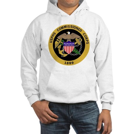 USPHS-Commissioned-Corps-Gold.gi Hooded Sweatshirt
