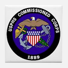 USPHS-Commissioned-Corps-Darker.gif Tile Coaster