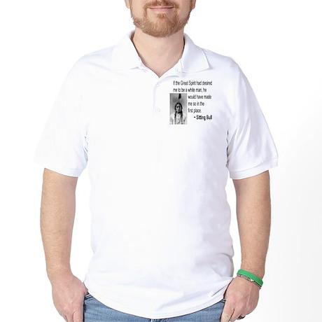 Sitting Bull Golf Shirt