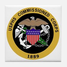 USPHS-Commissioned-Corps-Yellow.gif Tile Coaster