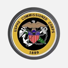 USPHS-Commissioned-Corps-Yellow.gif Wall Clock