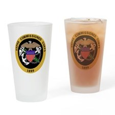 USPHS-Commissioned-Corps-Yellow.gif Drinking Glass