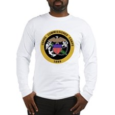 USPHS-Commissioned-Corps-Yello Long Sleeve T-Shirt