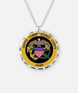 USPHS-Commissioned-Corps-Gol Necklace