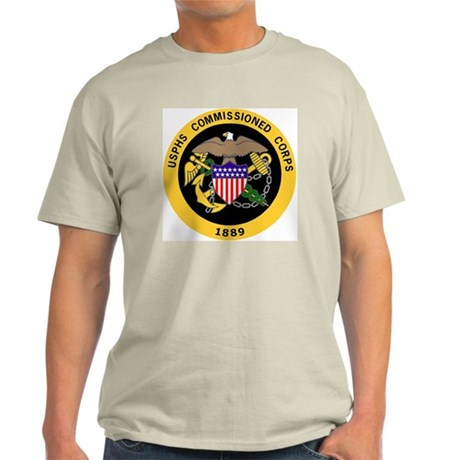 USPHS-Commissioned-Corps-Gold-3.gif Light T-Shirt