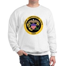 USPHS-Commissioned-Corps-Gold-3.gif Sweatshirt