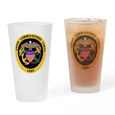 USPHS-Commissioned-Corps-Gold-3.gif Drinking Glass