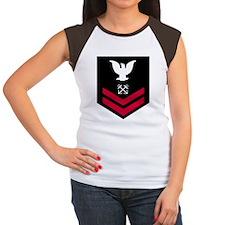 Navy-BM2-Squared.gif Women's Cap Sleeve T-Shirt