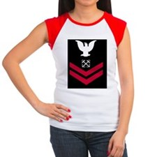 Navy-BM2-Mousepad.gif Women's Cap Sleeve T-Shirt