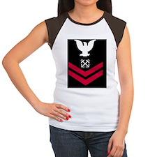 Navy-BM2-Tile.gif Women's Cap Sleeve T-Shirt