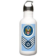 USAF-SSgt-Greetings.gi Water Bottle