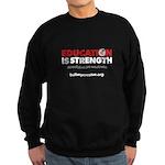 Education is Strength Sweatshirt (dark)